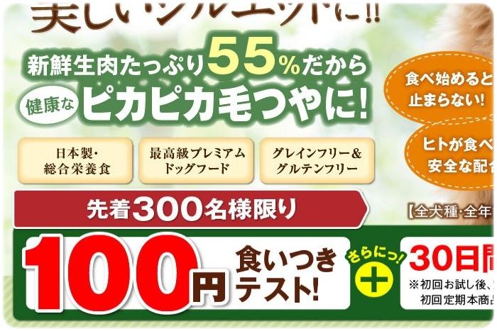 ナチュロル100円サンプル